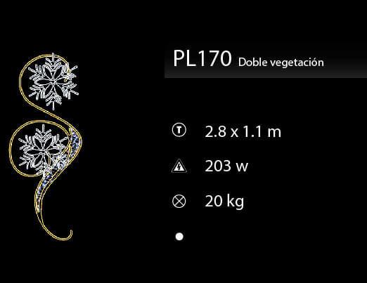 doble vegetación