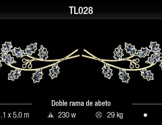 doble rama de abeto