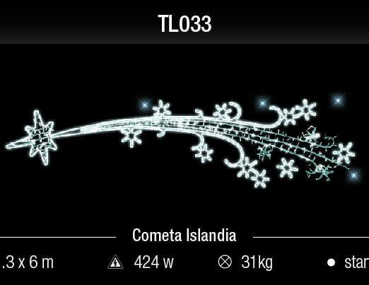 cometa islandia