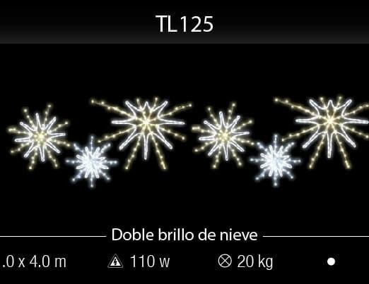 doble brillo de nieve