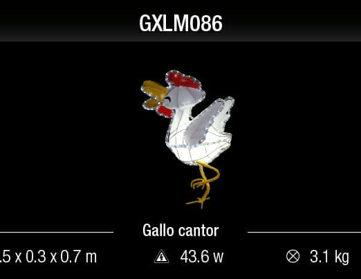 gallo cantor
