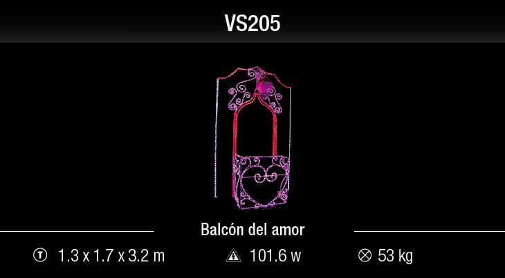 blachere balcón del amor
