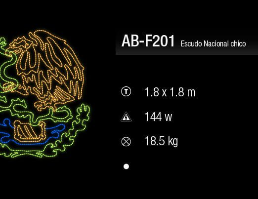 escudo nacional chico