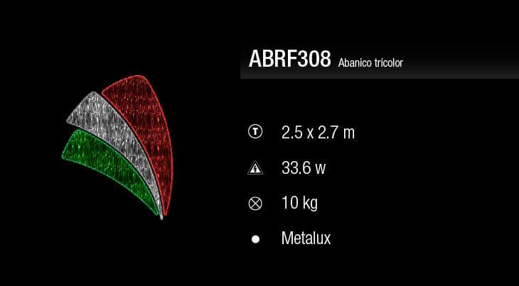 blachere abanico tricolora
