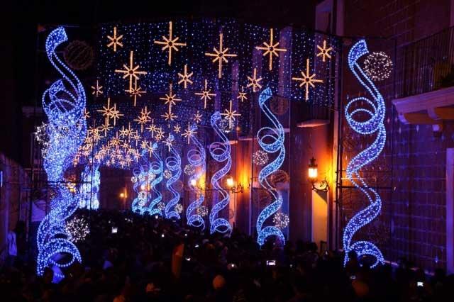 Proyectos de iluminacion navideña